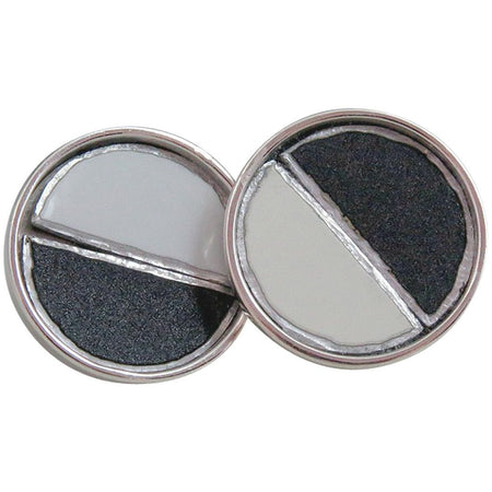 Titanium Tesla Cuff Links