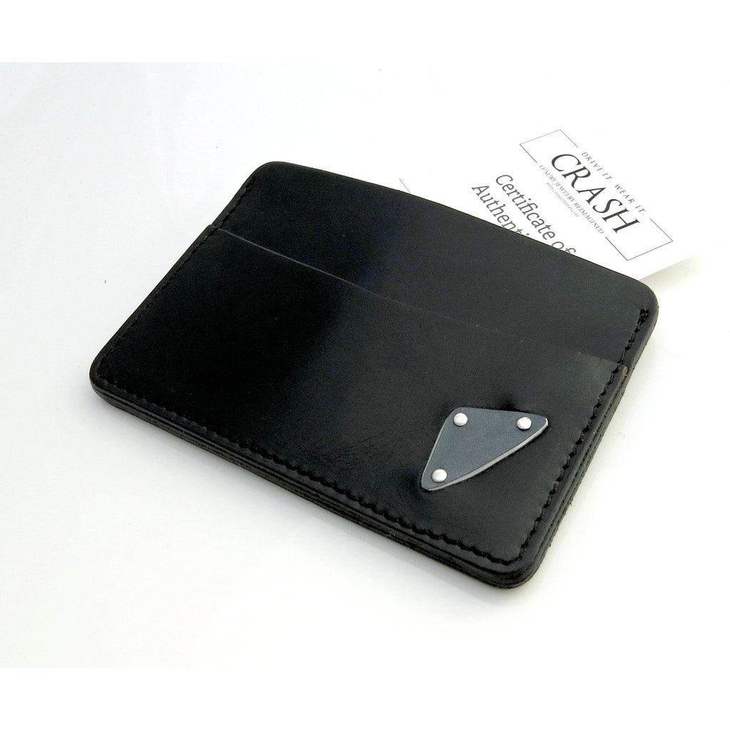 Accessories - Tesla Black Leather Bill Case