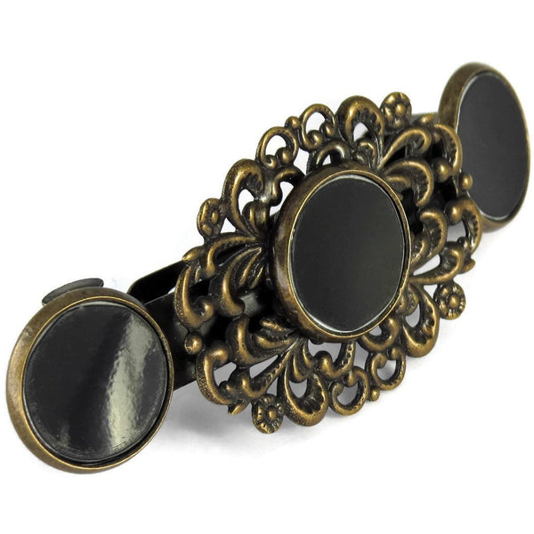 Tesla Victorian Hair Clip - CRASH Jewelry