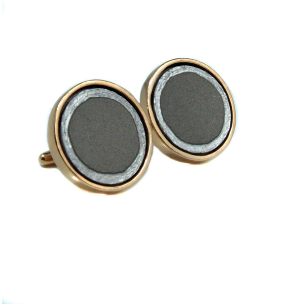 Titanium Tesla Cuff Links - CRASH Jewelry