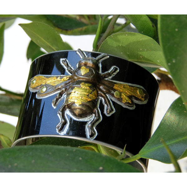 Aston Martin Bee Cuff - CRASH Jewelry