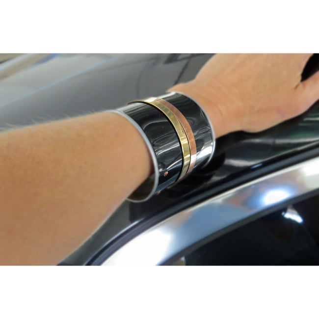 Maserati Wide Bangle - CRASH Jewelry