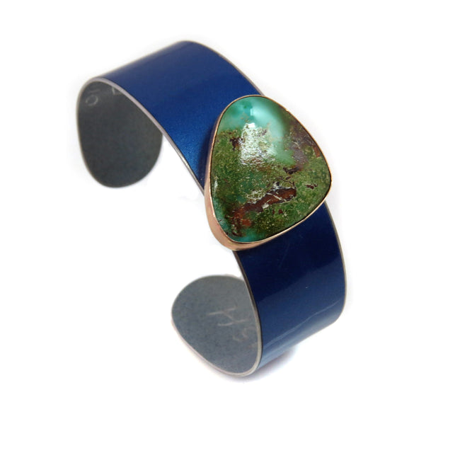 BMW Turquoise Cuff - CRASH Jewelry
