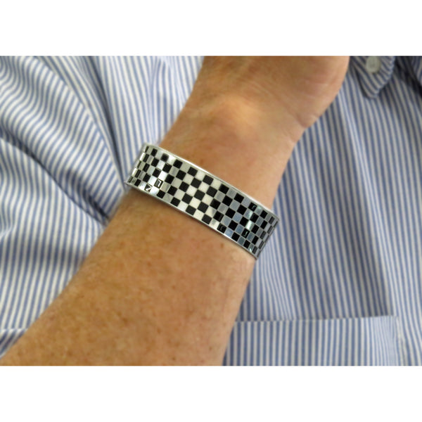 Checkered Flag Mustang - CRASH Jewelry