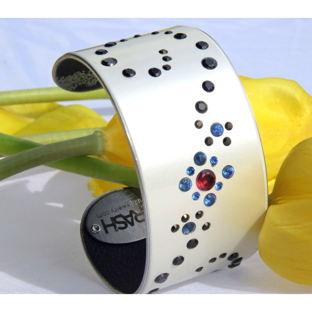 Ferrari Assorted Gemstone Cuff - CRASH Jewelry