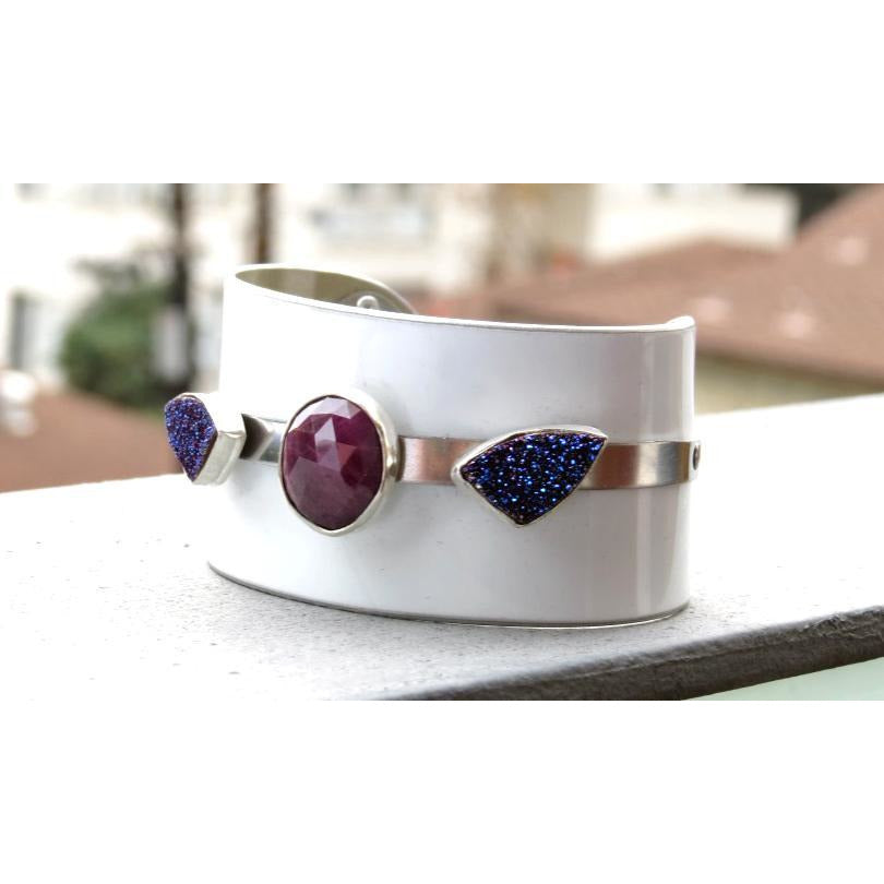 Porsche Gemstone Cuff - CRASH Jewelry
