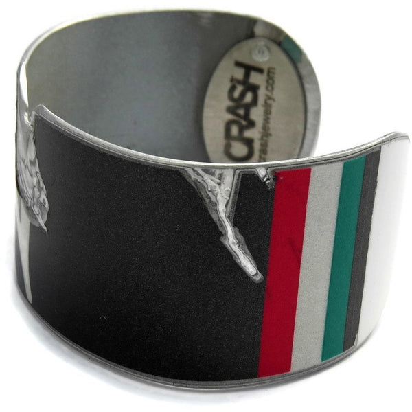 Raw Lamborghini Superleggera Cuff - CRASH Jewelry