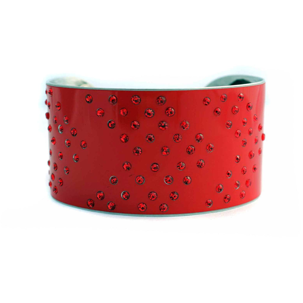 Red Hot Ferrari Cuff - CRASH Jewelry