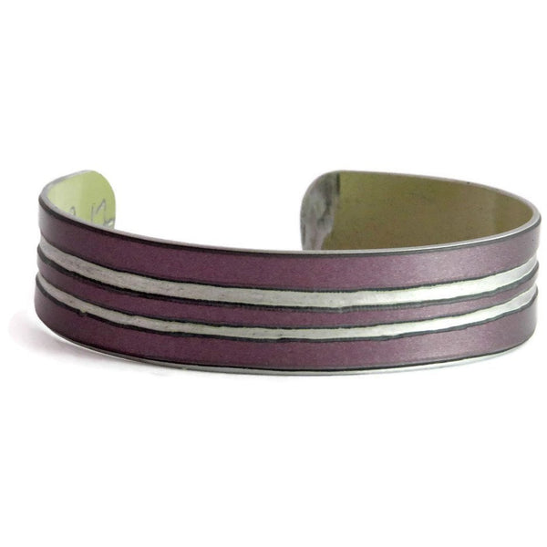 Striped Bentley Flying Spur Cuff - CRASH Jewelry
