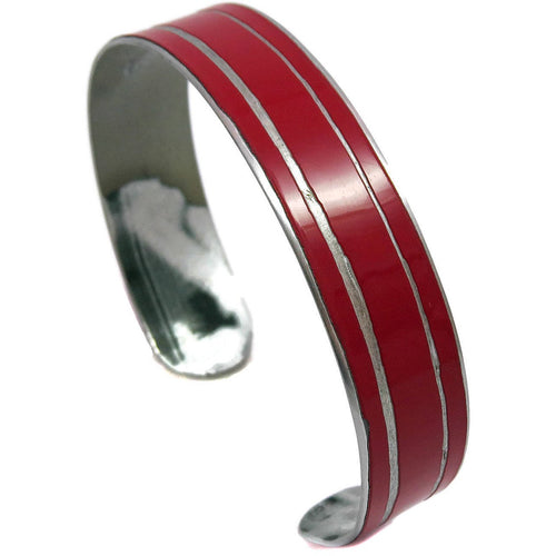 Striped Mercedes SLK Cuff - CRASH Jewelry
