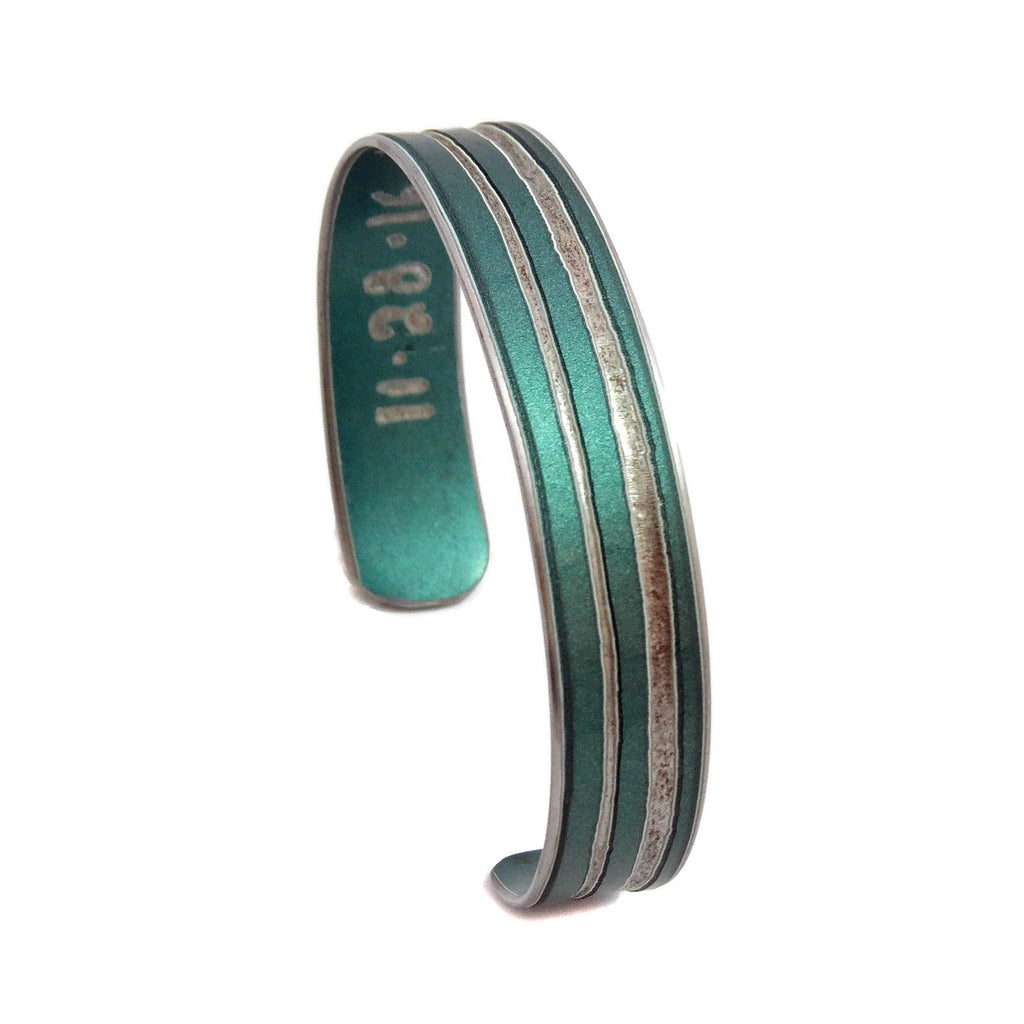 Striped Porsche Cuff - CRASH Jewelry