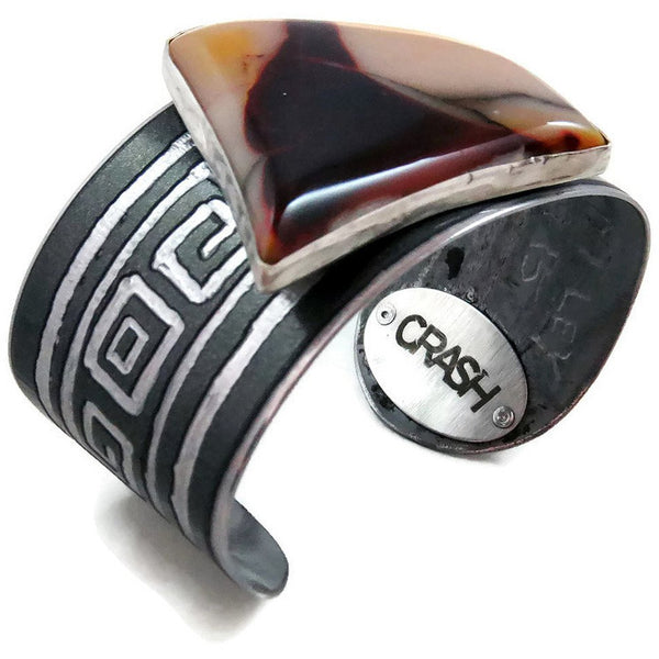Bentley Mookaite Cuff - CRASH Jewelry