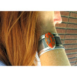 Bentley Orange Turquoise Cuff - CRASH Jewelry