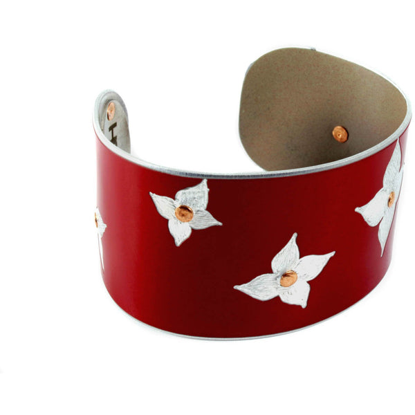Blooming Blossoms Tesla Cuff - CRASH Jewelry