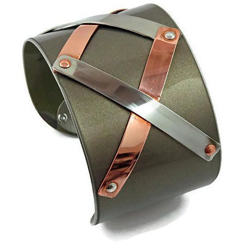 BMW Criss Cross Cuff - CRASH Jewelry