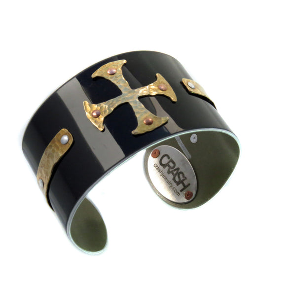 BMW Medieval Cross Cuff - CRASH Jewelry