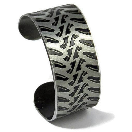 Cadillac Escalade Tire Tread Cuff - CRASH Jewelry