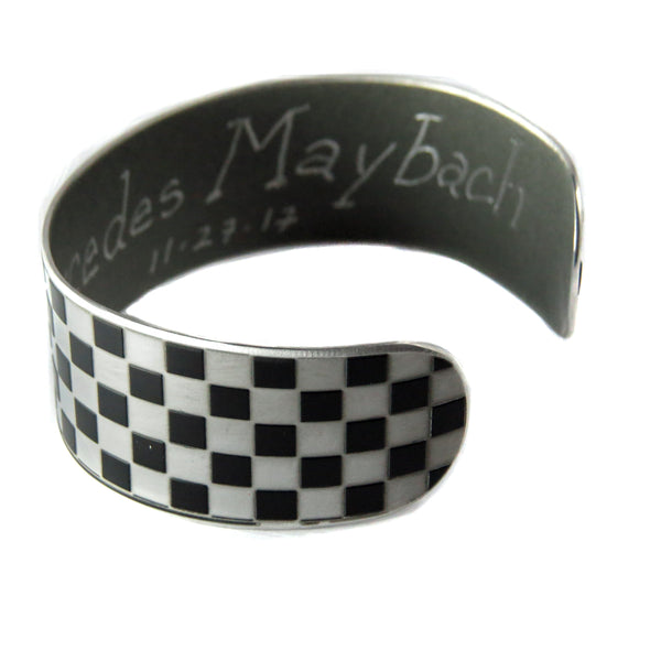 Cuffs - Checkered Flag Maybach