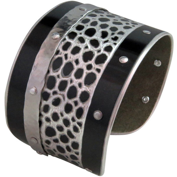 Ferrari Black Mamba Cuff - CRASH Jewelry