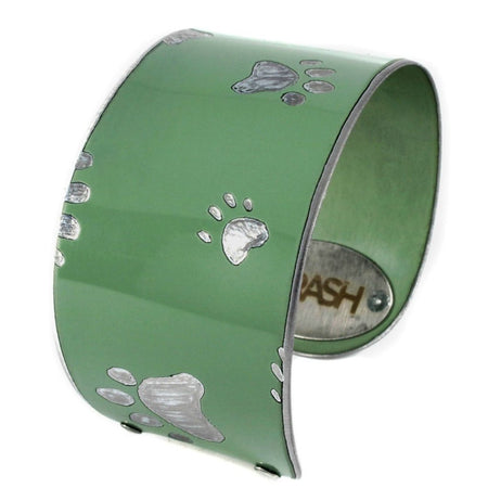 Ferrari Diamond and Peridot Cuff