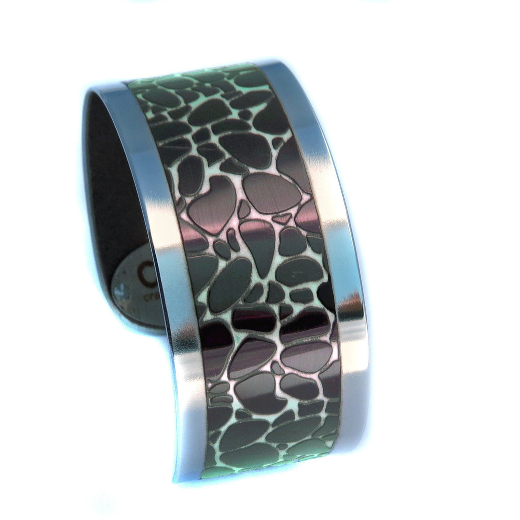 Jaguar Animal Print Cuff - CRASH Jewelry