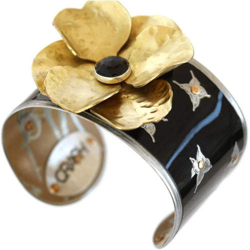 Maserati Vintage Flower Cuff - CRASH Jewelry