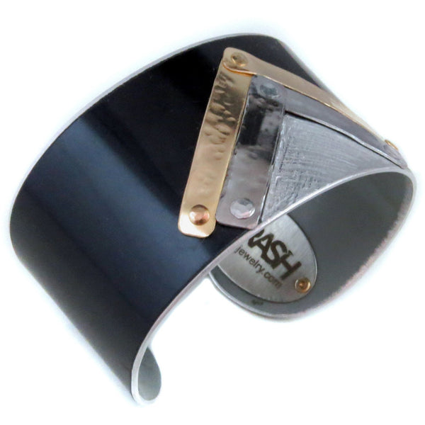 Mercedes Art Deco Cuff - CRASH Jewelry - 1