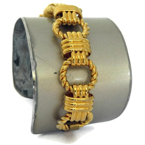 Mercedes E320 Chain Cuff - CRASH Jewelry