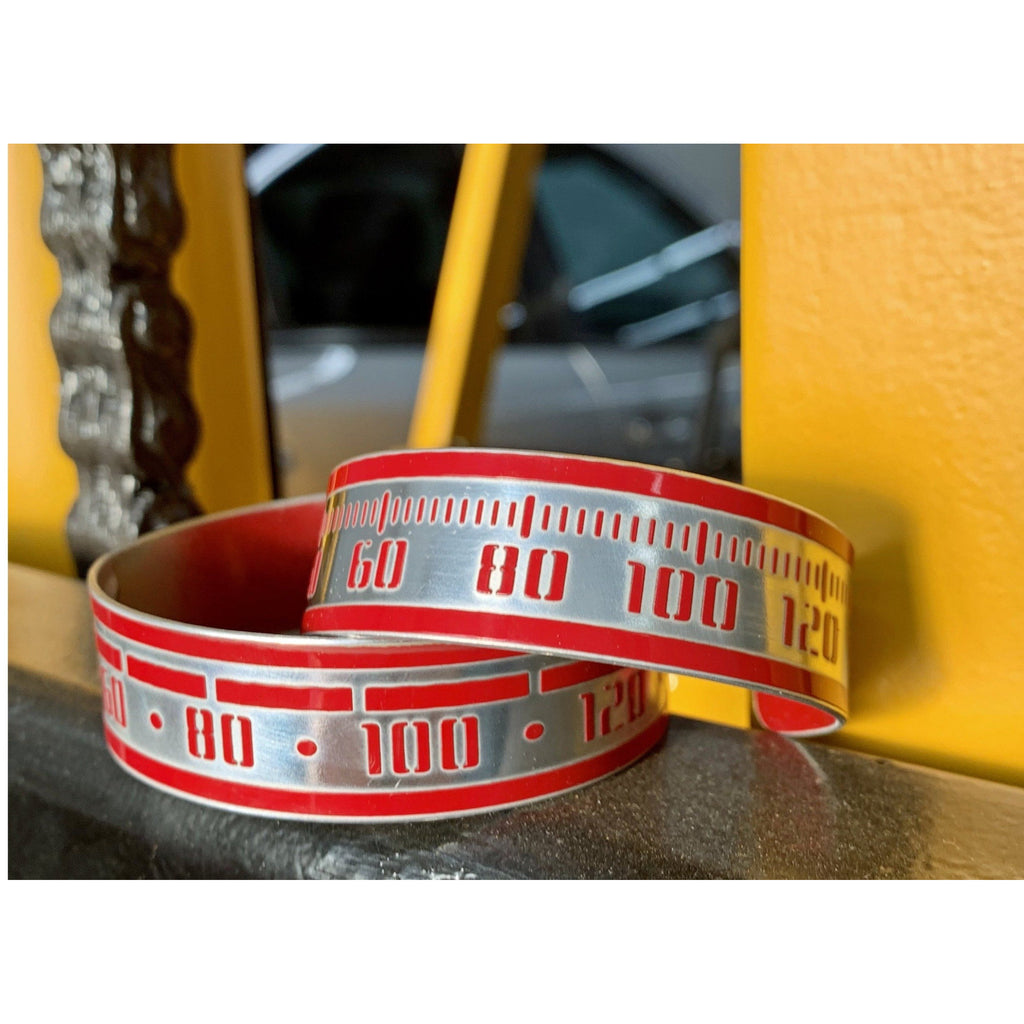 Mercedes Speedometer Cuffs - CRASH Jewelry