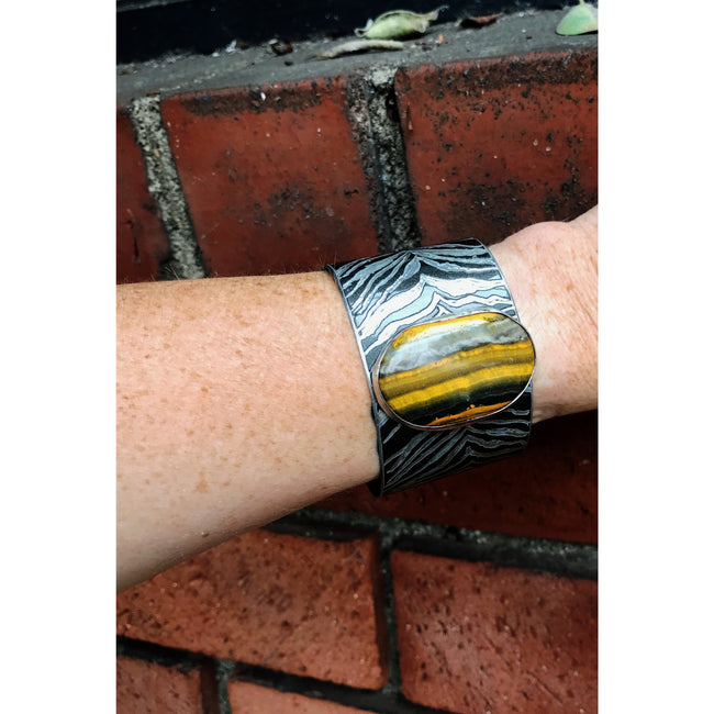 Mini Cooper Bumblebee Cuff - CRASH Jewelry