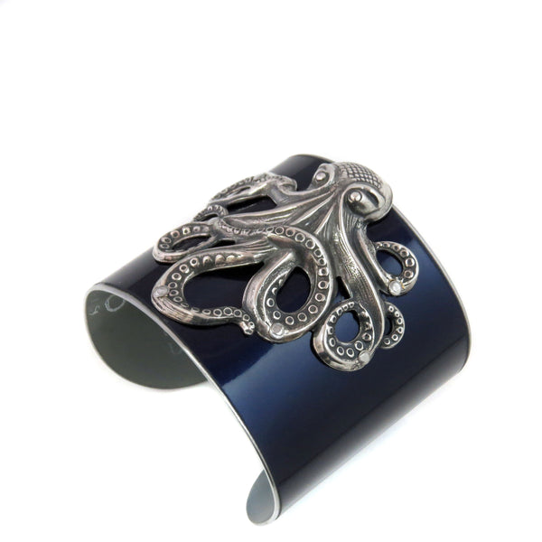 Octopus Mercedes Cuff - CRASH Jewelry