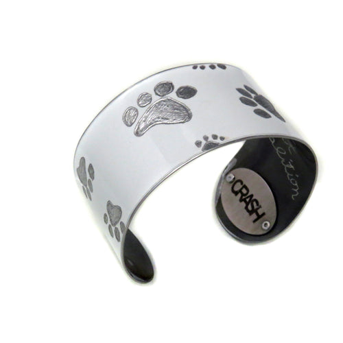 Porsche Carrera 'Paws for a Cause' Cuff - CRASH Jewelry