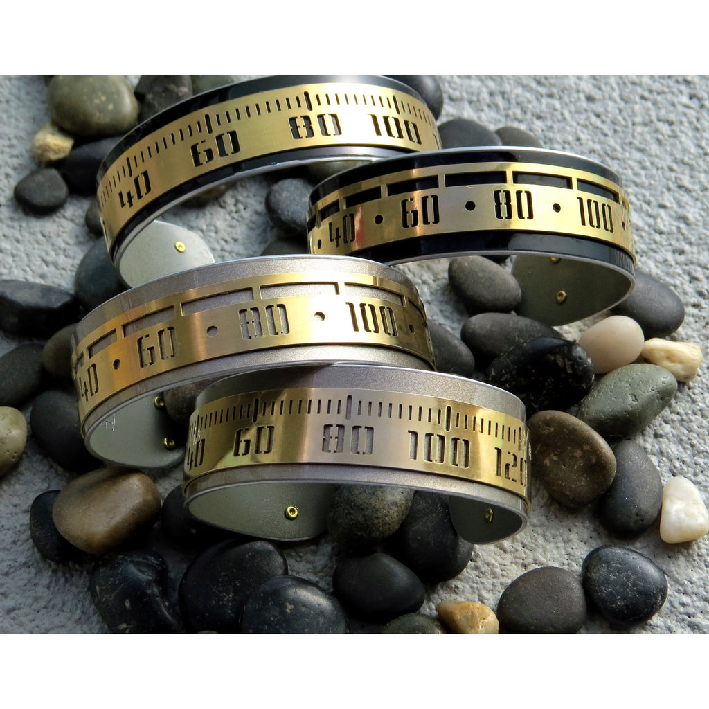 Porsche Fancy Speedometer Cuffs - CRASH Jewelry
