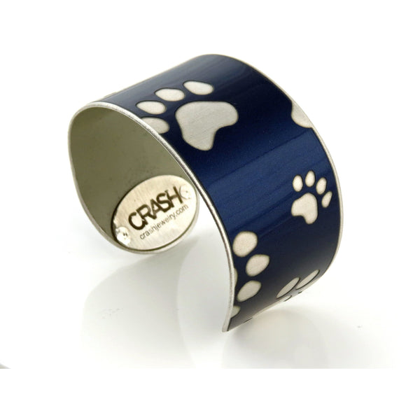 Tesla 'Paws for a Cause' Cuffs - CRASH Jewelry - 1