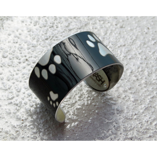 Tesla 'Paws for a Cause' Cuffs - CRASH Jewelry