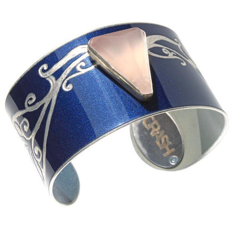 Aston Martin Diamond and Chalcedony Cuff