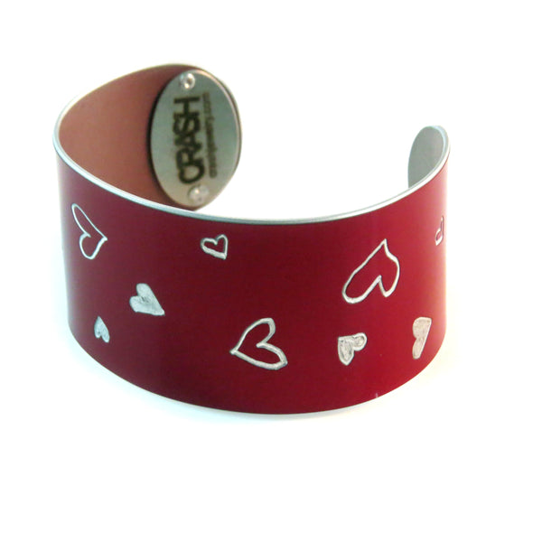 Tesla Sweetheart Cuff - CRASH Jewelry