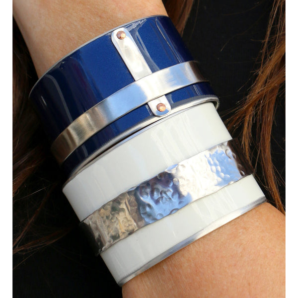 Tesla Yacht Cuff - CRASH Jewelry