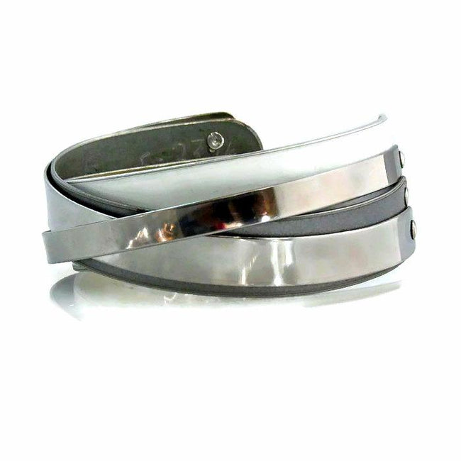 Triple Threat Cuff - CRASH Jewelry
