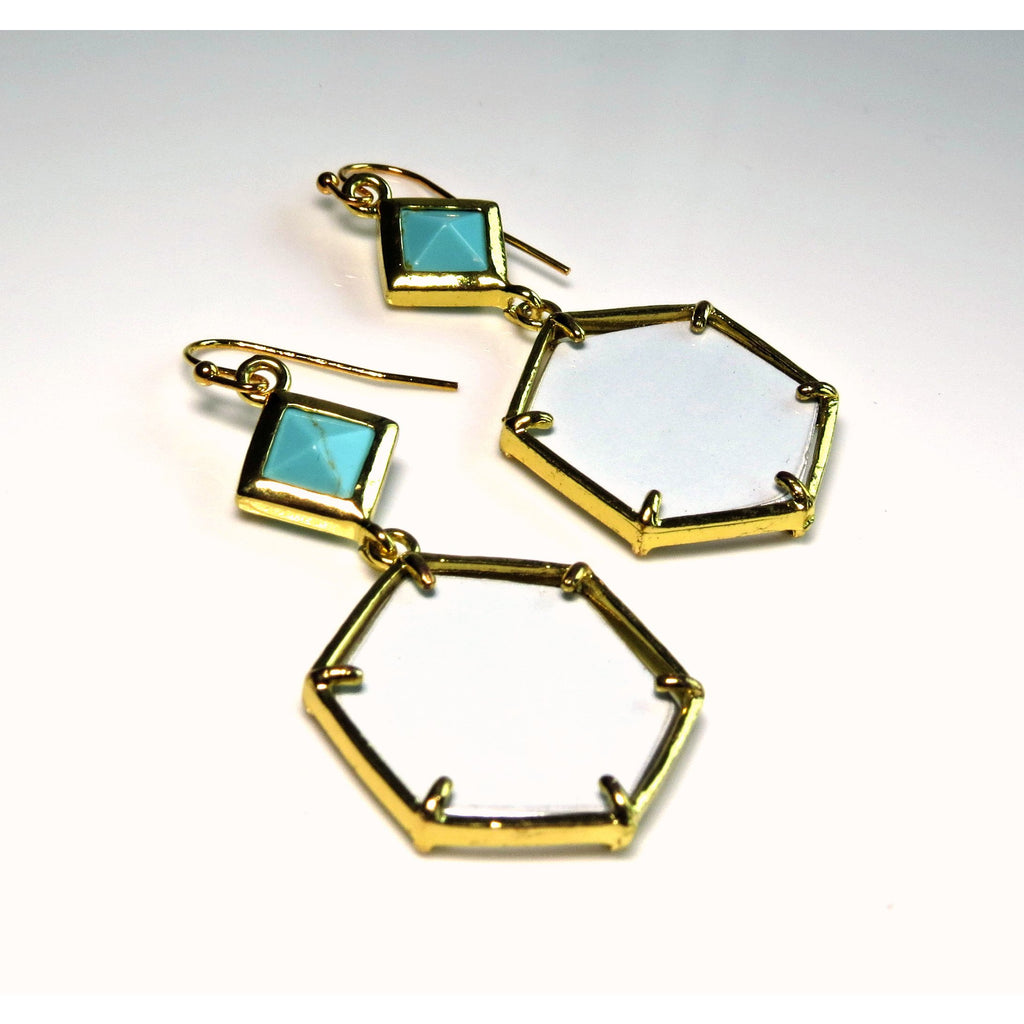 Earrings - Audi TT Octagonal Earrings