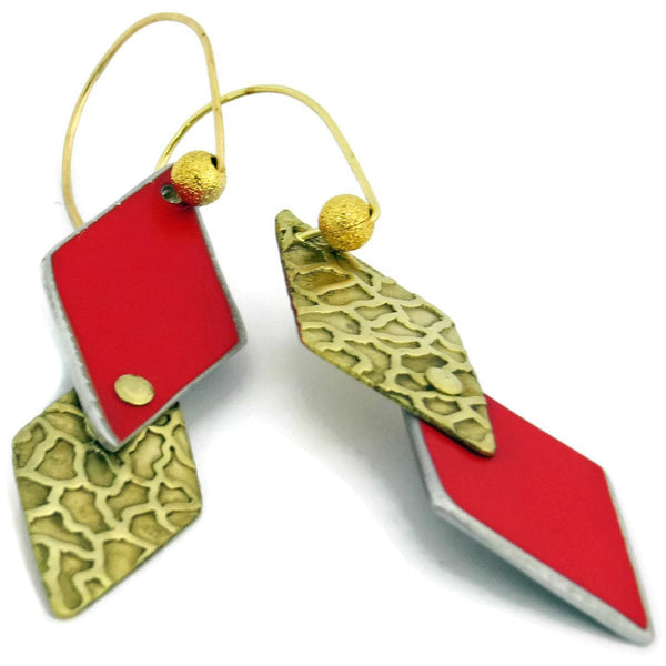 Ferrari Diamond Earrings - CRASH Jewelry