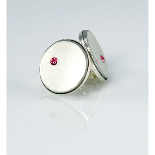 Ferrari 'Find A Cure' Stud Earrings - CRASH Jewelry