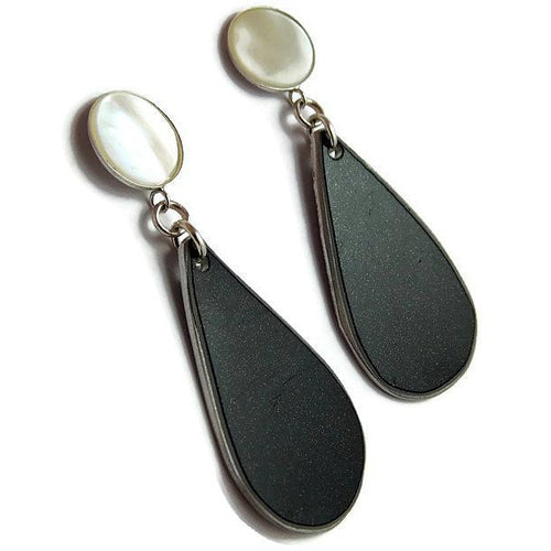 Ferrari Mother of Pearl Earrings - CRASH Jewelry