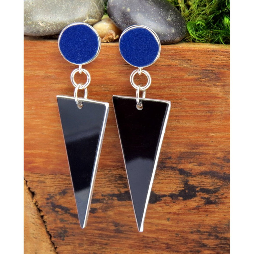 Earrings - Lamborghini Triangle Earrings