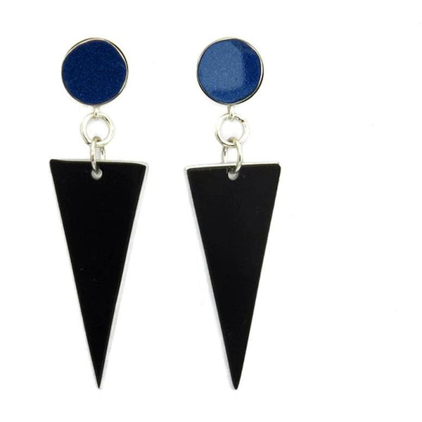 Lamborghini Triangle Earrings - CRASH Jewelry