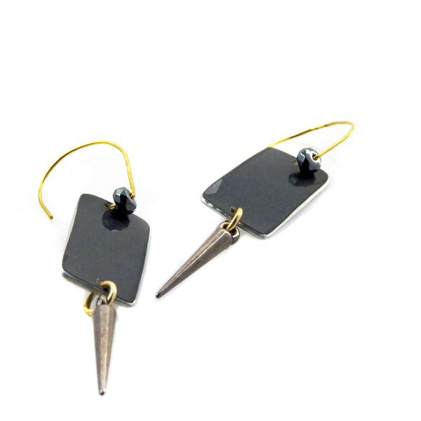 Mercedes-Benz CLS Spike Earrings - CRASH Jewelry