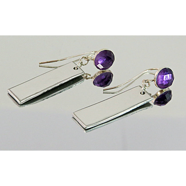 Purple Amethyst Audi Earrings - CRASH Jewelry