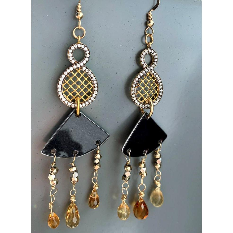 Rolls-Royce Chandelier Gemstone Earrings - CRASH Jewelry