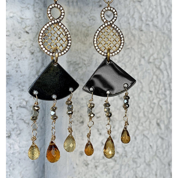 Earrings - Rolls-Royce Chandelier Gemstone Earrings