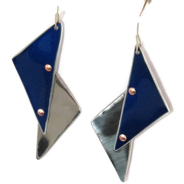 Tesla Triangle Earrings - CRASH Jewelry
